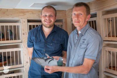 Hans en Roy de Bresser, Berg & Terblijt (NL) winnen 1e Internationaal Marseille van 9.383 duiven